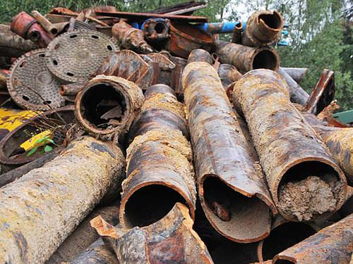 Iron Pipes Scrap Buyer